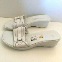 DIANNA FERRARI WOMEN'S DESIGNER FLAT SLIP ON SHOE/SANDAL SIZE AU 8 / EU 39