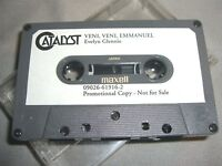 EVELYN GLENNIE Veni,Veni,Emmanuel Music Of James MacMillan CASSETTE tape album