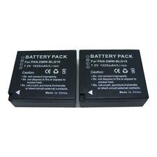2pack Battery for Panasonic Lumix DMC-GF6, DMC-GX7, DMC-LX100 DMW-BLG10E new