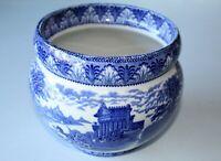 Cauldon Chariot Pattern England Blue & White Bowl