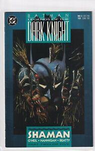 BATMAN #2 LEGENDS OF THE DARK KNIGHT 1989 DC COMICS PART 2 OF 5