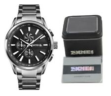 SKMEI Quartz Mens Business Formal Wrist Watch 30m Waterproof w/ Box & Warranty