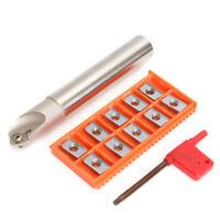 SSK C20-20-130 45° Zentrieren Anfasfräser Halter+10 APKT1604 Wendeschneidplatten