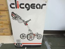 NEW CLICGEAR 3.5 PLUS SILVER/BLACK PUSH CART
