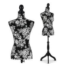 iKayaa Female Mannequin Torso Dress Form Display W/ Tripod Stand Design Top N8N6