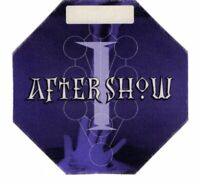 VINTAGE MADONNA 2001 DROWNED TOUR AFTER SHOW BACKSTAGE PASS-NEAR MINT TO MINT