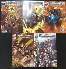 Transformers Energon Lot #19-23 - Dreamwave Productions 2004 - Used
