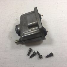 ARCTIC CAT VM38 MIKUNI CARBURETOR FLOAT CHAMBER BODY PN 6505-637 GOOD USED