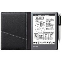 SHARP WG-S50 Electronic Notebook Black From Japan F/S