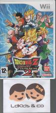 Jeu NINTENDO WII Wii DBZ DRAGON BALL Z BUDOKAI TENKAICHI 2 + Notice VF 12+ PAL
