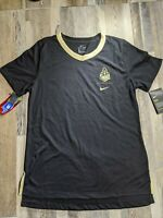New Purdue Boilermakers Nike Dri-Fit Women's Performance V-Neck Shirt Small Tee