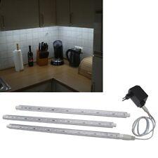 3 parties ensemble lampes encastrables LED BLANC 3x45cm + TRANSFORMATEUR /