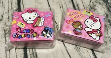 Hello Kitty Memo Stickers Gift Sanrio Characters Bear Cute Baby Bow Kids Rewards