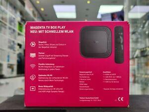 NEU - Telekom Magenta TV Box Play UHD Zweitreceiver WLAN Mesh Schwarz + OVP