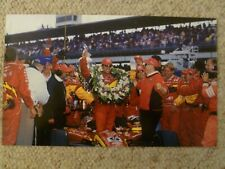 2001 Juan Montoya's Indy 500 Win from 2000 Print Picture Poster RARE!! Awesome