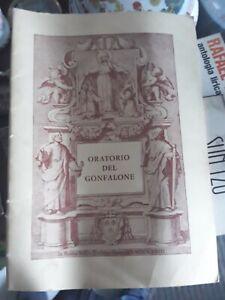 gli affreschi dell'oratorio del Gonfalone