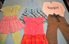 Girls Size 10 Fun LOT, Matching Sets Pants & Tops, 9 Piece GAP Limited Too TCP