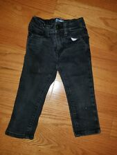 Old Navy Baby  Boys Black Jeans Size 18-24 Months Skate Skinny