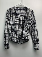Papermoon zip up jacket sweater size XL polyester