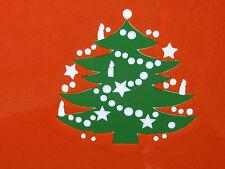 "Christmas Tree Square Dinner Plate 10.25"" Waechtersbach German Stoneware NEW"