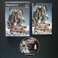 ARMORED CORE 2: ANOTHER AGE PlayStation 2 UK PAL English・♔・SHOOTER complete PS2