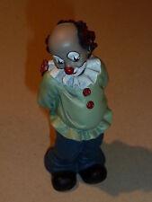"""Gilde Clown  """"Blumenfreund""""  ca. 15 cm  stehend"""