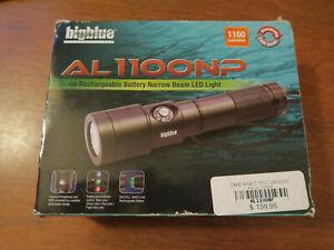 Bigblue AL1100NP 1100 Lumens LED Light Used 1 Time Scuba Diving