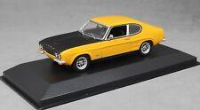 Minichamps Maxichamps Ford Capri Mk1 RS in Yellow & Black 1969 940085800 1/43NEW
