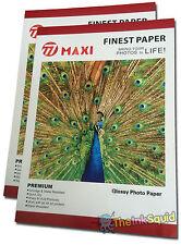 40 Hojas De A3 260gsm de alta calidad El Papel Fotográfico Brillante Para Impresoras Inkjet