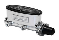 "Wilwood  High Volume Tandem Master Cylinder - 1"" Bore,Polished Chamber Aluminum"