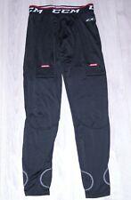 CCM mens training under black ice hockey pants trousers Size L