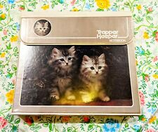 Vintage Trapper Keeper 1980s Kittens Cats Kitty Mead Notebook 3 Ring Binder