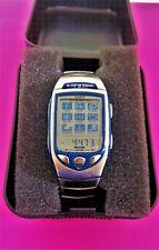 "Vintage Casio EDB-701 E-Databank 100 Memory Digital Wrist Watch ""CLEAN"""