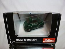 2100 BMW ISETTA 250 - POLIZEI POLICE - GREEN 1:43 - GOOD CONDITION IN BOX