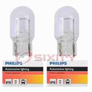 2 pc Philips Tail Light Bulbs for Mitsubishi Grandis 2007-2009 Electrical iv
