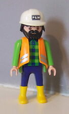 PLAYMOBIL (Q205) CHANTIER - Ouvrier P&M 3275