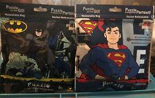 DC Comics Batman & Superman Puzzles On The Go 48 Pieces New L@@K