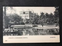 Vintage Real Photo Postcard #TP1208: Coventry & Warwickshire Hospital