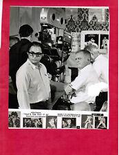 Elvis Presley related (original MGM photo TTWII director Dennis Sanders: TRIMMED