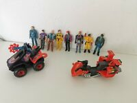 M.A.S.K Vintage Figures Accessories lot - Kenner - kpt - 1985 1986 1987