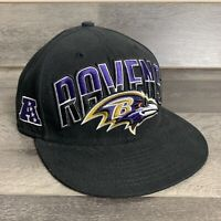 New Era Hat Cap NFL Football Baltimore Ravens 59fifty Fitted Size 7