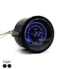 "2"" 52mm EVO Auto Car Digital Turbo Boost Gauge Psi Meter Sensor Pressure Kit"