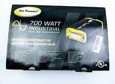 Go Power GP-ISW700-12 700 Watt Pure Sine Wave Inverter