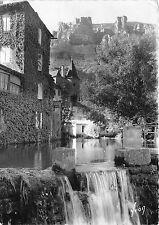 BR17909 Florac le Rocher de Rochefort et la chute du Pecher  france