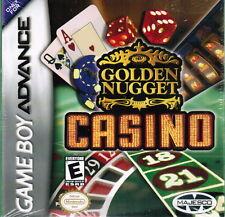 Nintendo Game Boy Advance Golden Nugget Casino Cards 2004 Gambling Video Games
