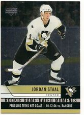 Jordan Staal 06-07 Upper Deck 2 Rookie Game Dated Moments