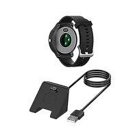 USB Charging Base Watch Charger Cradle For Garmin vivoactive 4 /fenix6 /Quatix 5