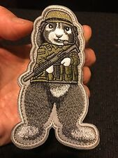 Tactical G.I. BUNNY RABBIT Military Soldier ARMY MP SWAT Police Morale Patch
