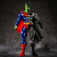 DC The Hulk Superman Batman Combination 3 in 1 Action Figure Collection