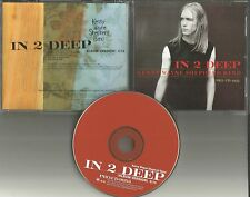 KENNY WAYNE SHEPHERD In 2 Deep 1999 ULTRA RARE PROMO Radio DJ CD Single USA
